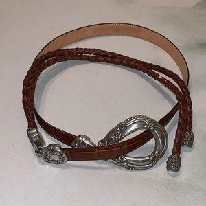 Vintage brown belt